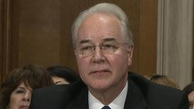 Rep. Tom Price, Trump's HHS pick, answers questions on insider trading claims