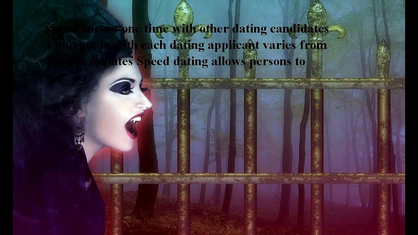 Goth Speed ​​Dating