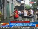 Pagbaha sa Calumpit, dulot ng pagpapakawala ng tubig ng Bustos Dam at pag-apaw ng Pampanga River