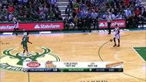 Russell Westbrook And One | Thunder vs Bucks | January 2, 2017 | 2016 17 NBA Season