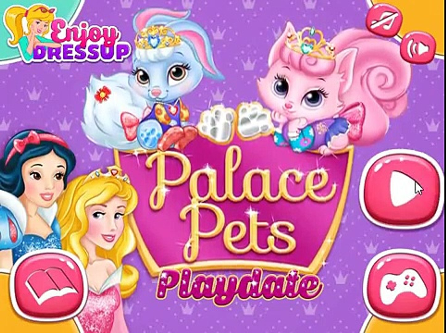 DISNEY PRINCESS PALACE PETS - BLANCANIEVES Y AURORA PALACE PET-SNOW WHITE AURORA PALACE PET