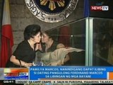 NTG: Pamilya Marcos, nanindigang dapat ilibing si ex-Pres. Marcos sa libingan ng mga bayani