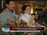 24 Oras: 45th wedding anniversary nina Sen. Tito Sotto at Helen Gamboa, star-studded