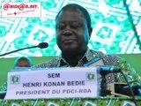 Congrès extraordinaire du PDCI-RDA : discours de clôture du président Bédié