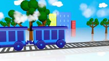 Trains for Childrens Kids, Baby for Learning Colors with Colorful Trains - Learning Colors Video