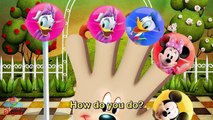 Mickey Mouse Lollipop Finger Family Nursery Rhymes Lyrics and More