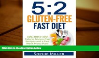 Audiobook  5:2 Gluten-free Fast Diet: 100, 200   300 Calorie Recipes AND a two week Menu Plan for