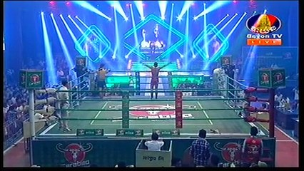 Khmer Boxing, Meun Sophea Vs. Thai, Bayon TV Boxing, 19 January 2017