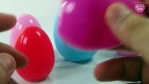 Colourful Surprise Eggs Minions - Corn Carrot Peas Squash Eggplant Vegetables Surprise Toys