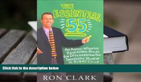 PDF The Essential 55: An Award-Winning Educator s Rules for Discovering the Successful Student in