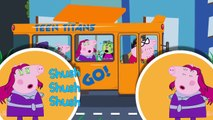 TEEN TITANS GO PIG FINGER FAMILY & MORE NURSERY RHYMES WHITH LIRYCS