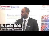 Présentation des tendances des Technologies 2015 par Mr Habib Bamba, Senior Manager à Deloitte