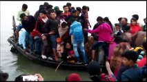Boat Capsizes in Ganga Near NIT ghat Patna ¦ This video help identifying peoples on that boat ¦