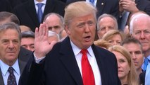 360 View: Donald J. Trump is sworn in as the 45th President and delivers his first speech to the nation