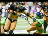 LFL Legends football league GIRLS ATTACK: hits and fights