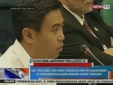 NTG: Panayam kay Sen. Trillanes kaugnay sa naging pahayag ni Mayor Junjun Binay