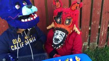 GIANT Play-Doh FIVE Nights at Freddys Surprise Egg: BONNIE +NIGHTMARE FOXY +FREDDY +CHUCKE. CHEESE