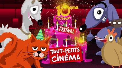 Bande-annonce de la 10e édition du Festival Tout-petits cinéma