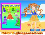 My Summer Beach Fashion Dress Up Games For Little Kids And Girls