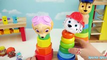 Learn Colours with Paw Patrol Wooden Surprises And Toys Learn Colors with Preschool Toy Sorting