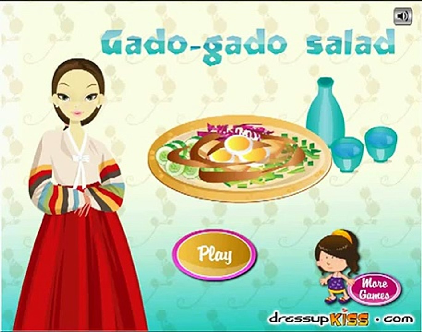Gado Gado Salad Games-Cooking Games-Girl Games-Dora Games