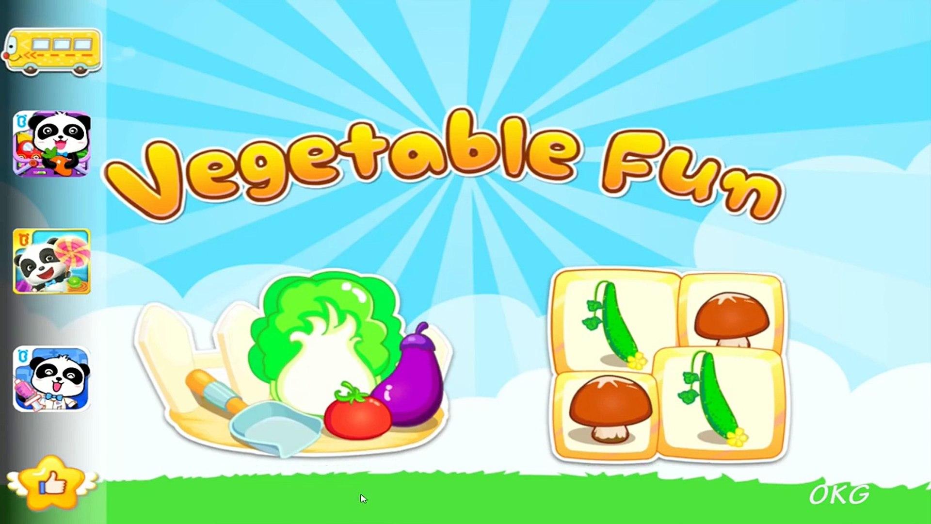 Овощи Детские Игры Панда Для Детей