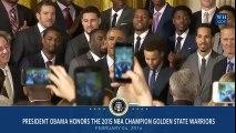 2- Barack Obama : 8 ans de cadeaux sportifs avec une collection de maillots de champion