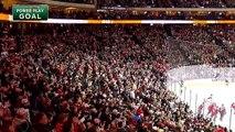 Hockey : la reprise de volée réussie de Jared Spurgeon