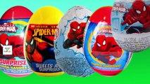 Spider Man Surprise Eggs Finger Family Cartoon Animation Nursery Rhymes For Children