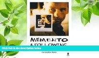 DOWNLOAD EBOOK Memento   Following Christopher Nolan Pre Order