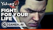 Yakuza 0 - Dojo Showdown Gameplay