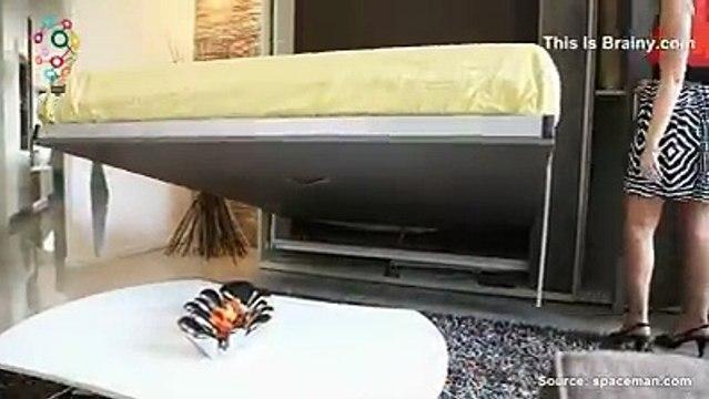 Innovadores muebles que ahorran espacio
