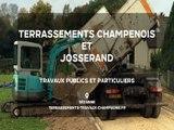 Terrassements Champenois et Josserand, travaux publics et particuliers dans la Marne