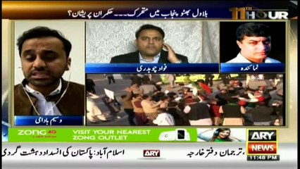 Fawad Chaudhry says PML-N irked by Bilawal's activities in Punjab