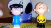 Happy meal - McDonalds toys Snoopy and Charlie Brown the Peanuts Movie