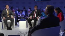 Russian sanctions speculation debated at Davos