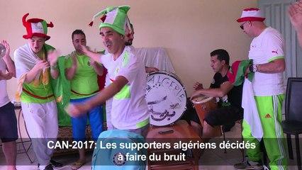 CAN-2017: Les supporters algériens décidés à faire du bruit