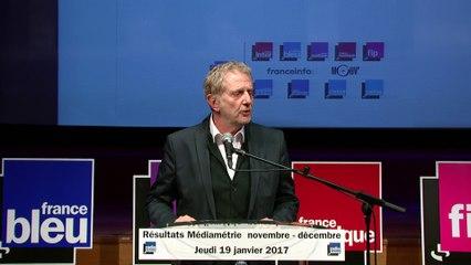 Médiamétrie 19/01/17 - Partie 1 - Introduction de Frédéric Schlesinger