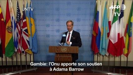Gambie: l'Onu apporte son soutien à Adama Barrow
