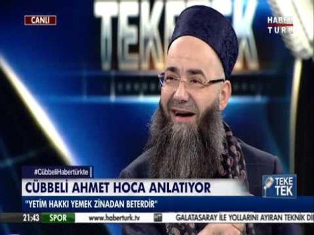 Cübbeli Ahmet hocadan sigara anısı