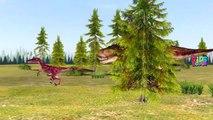 Dinosaurs VS Monster Truck | Dinosaurs Shark Gorilla Finger Family | Dinosaurs Vs Dinosaurs | Rhymes
