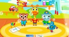 Animals Kindergarten - Childrens activities in First day of Kindergarten - Education Games for Child