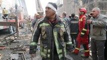 Mindestens 20 Feuerwehrleute nach Hochhaus-Einsturz verschüttet