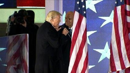 Donald Trump promet de rassembler un pays déchiré