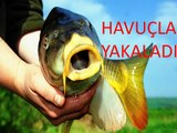 Havuçla Balık Yakaladı, Balık Avı, Balık Tutma,Balık Avı videoları