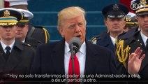 Las frases destacadas del discurso de Trump