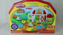 Play Doh Farm Barnyard Pals Play Doh Set Playdough Animals Barn Hair Play Doh Dog DisneyCarToys