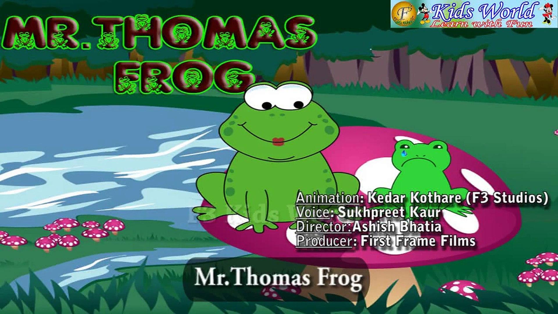 Nursery Rhyme- Mr Thomas Frog By Aastha Bhatia