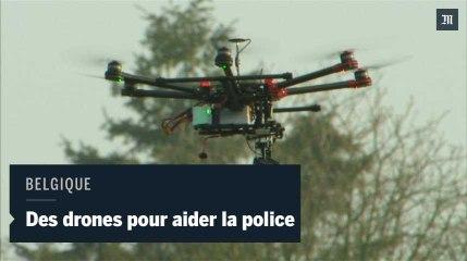Belgique : des drones pour aider la police sur la route