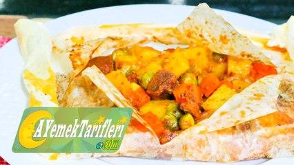 Sebzeli Kağıt Kebabı Nasıl Yapılır? | Fırında Sebzeli Kağıt Kebabı Tarifi | Kebap Tarifleri
